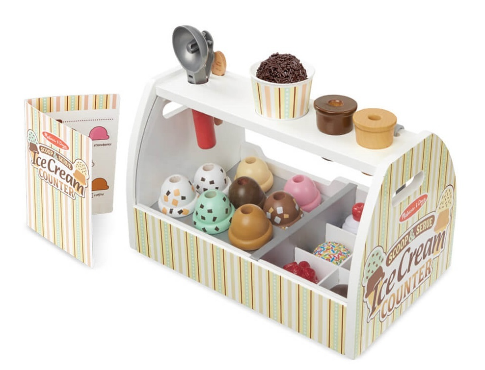 Melissa & Doug: Scoop & Serve - Ice Cream Counter image