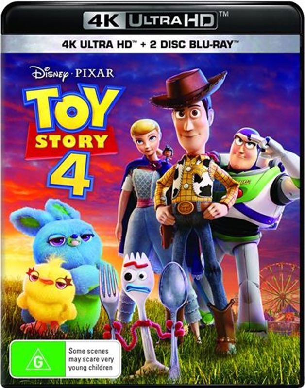 Toy Story 4 (4K UHD + Blu-ray) on UHD Blu-ray