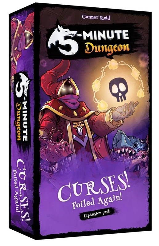 5 Minute Dungeon: Curses Foiled Again - Game Expansion