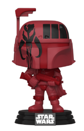 Star Wars: Boba Fett (Futura/Red) - Pop! Vinyl Figure + Protector image