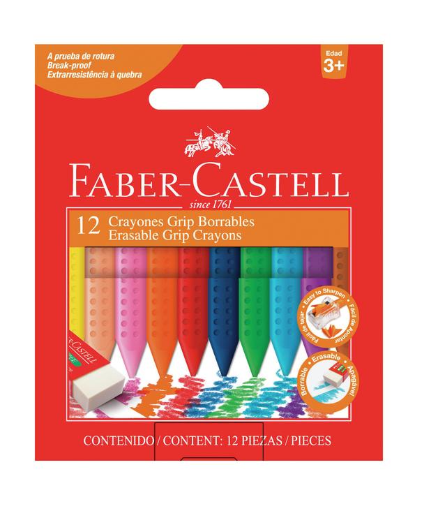Faber-Castell: Jumbo Grip Crayons - Box 12