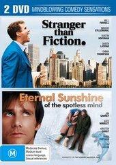Stranger Than Fiction / Eternal Sunshine Of The Spotless Mind (2 Disc Set) on DVD