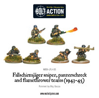 German Airborne - Fallschirmjager Weapons Teams