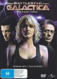 Battlestar Galactica - Season 3 on DVD