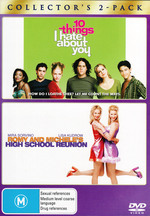 10 Things I Hate About You/Romy & Michelle Double Pk on DVD