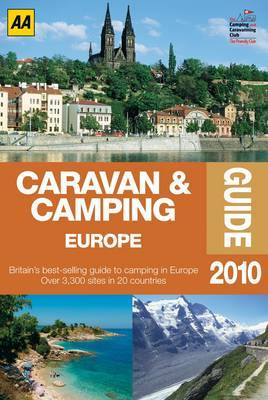 Caravan and Camping Europe: 2010 by AA Publishing image