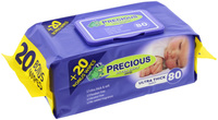 Precious - Ultra Thick Baby Wipes (80 Wipes) image