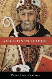 Augustine's Leaders by Peter Iver Kaufman image
