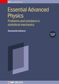 Statistical Mechanics: Problems with solutions, Volume 8 by Konstantin K Likharev image