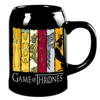 Game Of Thrones: House Sigils Ceramic Stein