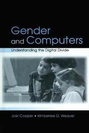 Gender and Computers by Joel Cooper