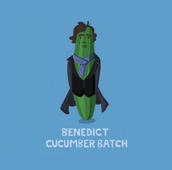 Oh Deer: Benedict Cucumberbatch Multi-Purpose Greeting Card