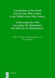 National Constitutions / Constituciones Nacionales / Nationale Verfassungen