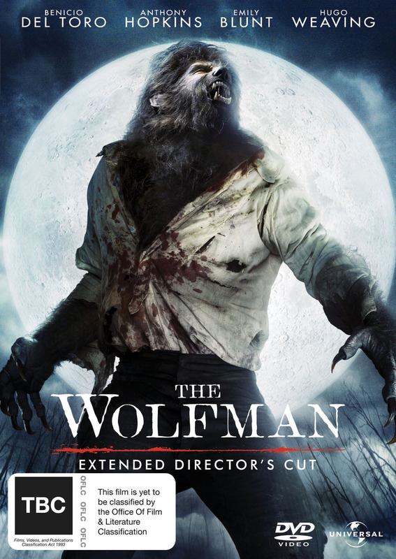 The Wolfman - Extended Director's Cut on DVD