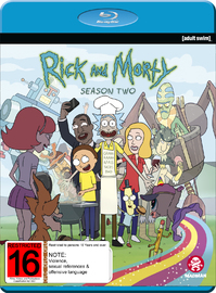 Rick And Morty Season 2 on Blu-ray image