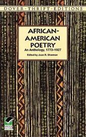 African-American Poetry by Joan R Sherman image