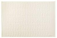 Orla Kiely Sculpted Stem Bath Towel - Cream image