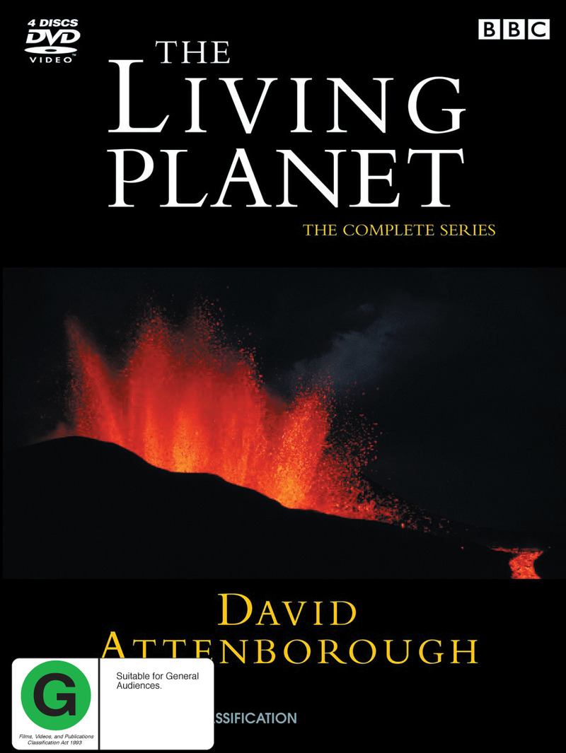 The Living Planet - The Complete Series Box Set on DVD image