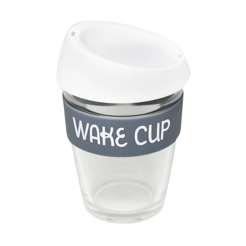 General Eclectic: Travel Mug - Wake Cup (340ml) image