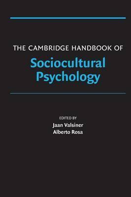 The Cambridge Handbook of Sociocultural Psychology image