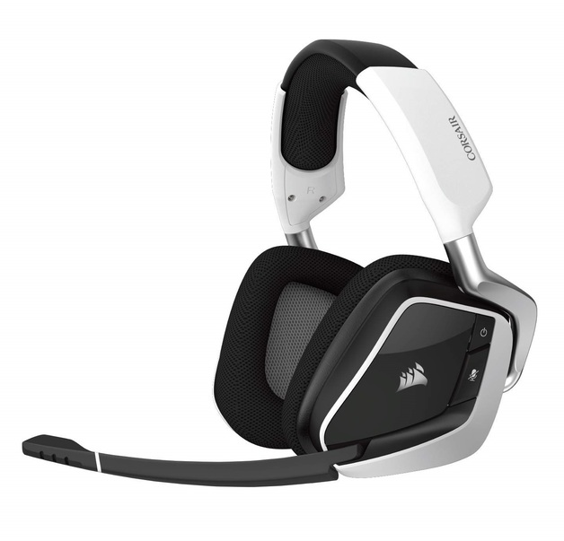 Corsair Void PRO RGB USB Gaming Headset (White) for PC