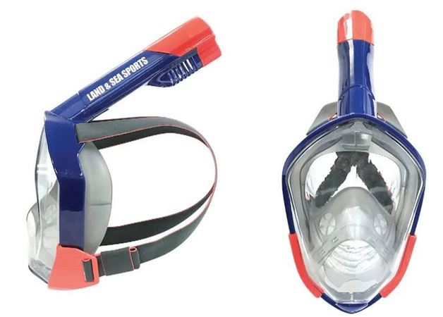 Land & Sea Orpheus Full Face Mask With Snorkel