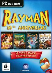 Rayman 10th Anniversary Pack (4 titles!) for PC Games