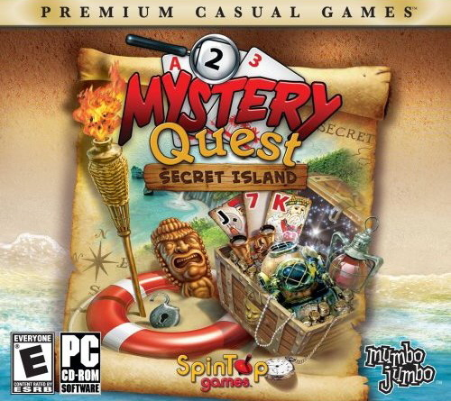 Mystery Quest: Secret Island (Jewel Case Packaging) for PC