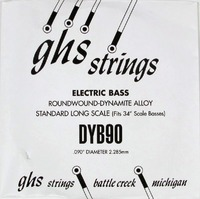 GHS 090 Dynamite Alloy Bass Boomers - Electric Bass Single String