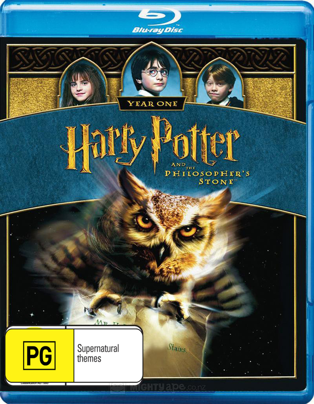 Harry Potter and the Philosopher's Stone on Blu-ray