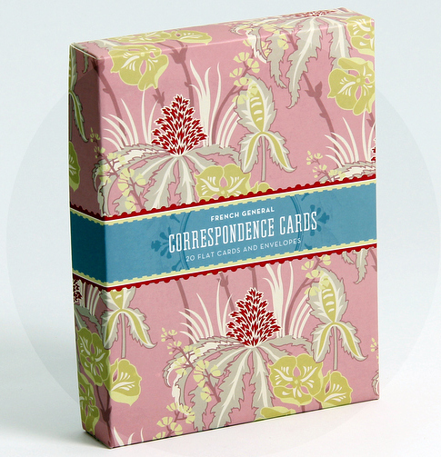 French General Correspondence Cards (20 Cards) by Kaari Meng