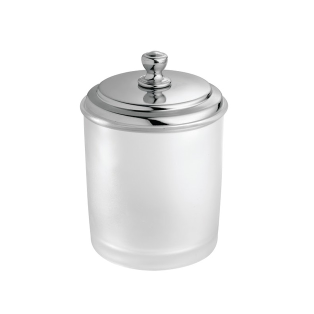 Interdesign York Canister - Frosted
