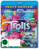 Trolls on Blu-ray