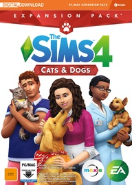 The Sims 4 Cats and Dogs (Code in Box) for PC Games image