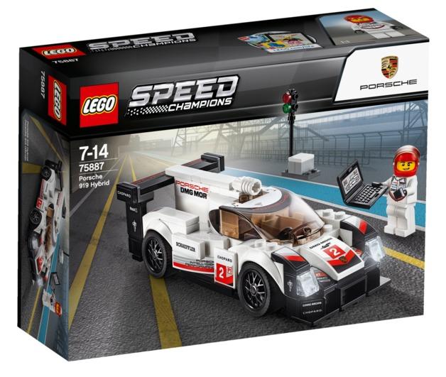 LEGO Speed Champions: Porsche 919 Hybrid (75887)