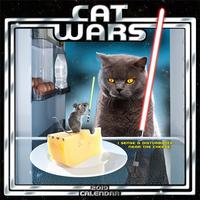Cat Wars 2019 Mini Calendar by Sellers Publishing Inc