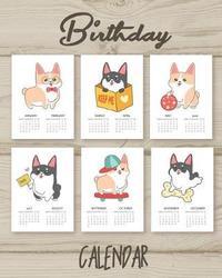 Birthday Calendar by Robert Sender