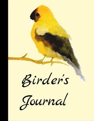Birder's Journal by King Bird Publishing