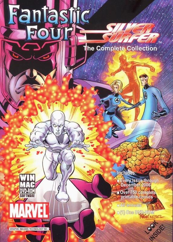 Fantastic Four Silver Surfer Complete Comic Collection