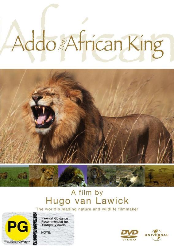 Hugo Van Lawick - Addo - The African King on DVD