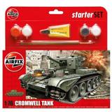 Airfix Cromwell MkIV Tank Starter Set 1/76 Model Kit