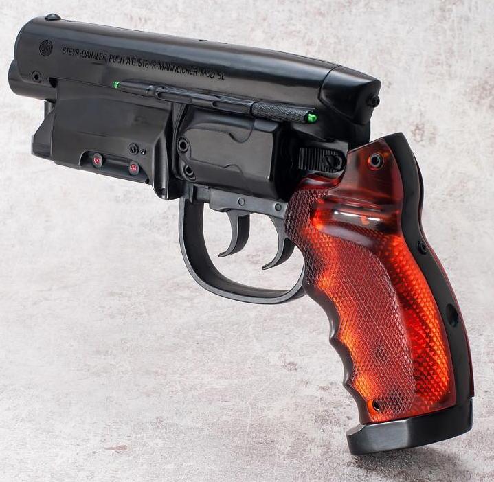 Blade Runner Blaster Gun Prop Replica At Mighty Ape