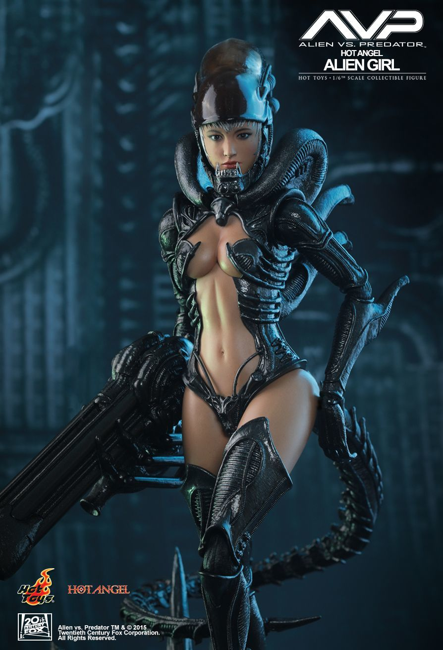 "Hot Angels: Alien Girl - 12"" Articulated Figure image"