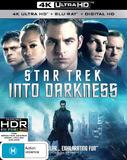 Star Trek: Into Darkness (4K UHD) DVD