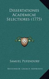 Dissertationes Academicae Selectiores (1775) by Samuel Pufendorf, Fre