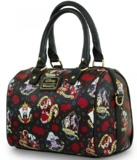 Loungefly Disney Villains Tattoo Duffle Bag
