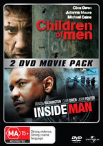 Children Of Men / Inside Man - 2 DVD Movie Pack (2 Disc Set) on DVD