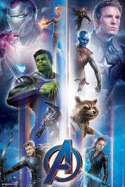 Avengers Endgame Maxi Poster - Characters Vertical Fair (1014)