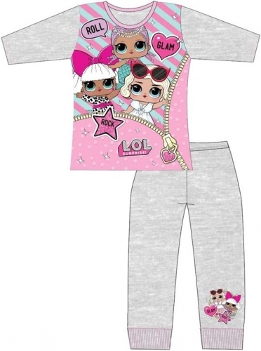 L.O.L Surprise: Kids Pyjama Set - Grey/7-8