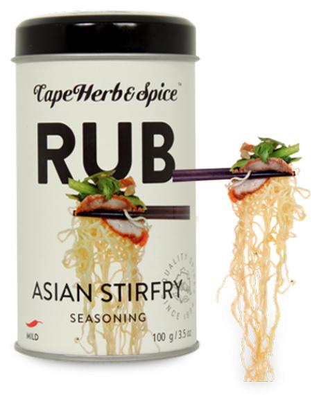 Cape Herb: Asian Stir Fry Rub (100g)